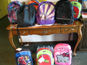 LWLC VBS BACKPACKS